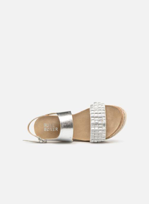 Sandales et nu-pieds Bullboxer 886028F2L Argent vue gauche