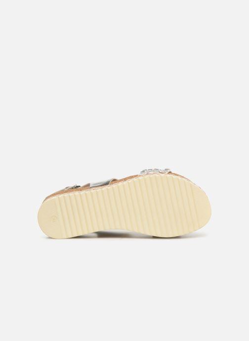Sandales et nu-pieds Bullboxer 886028F2L Argent vue haut