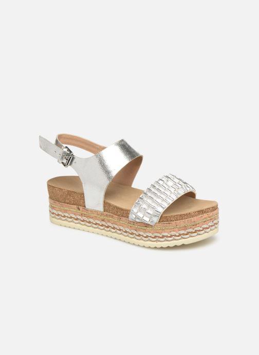 Sandales et nu-pieds Bullboxer 886028F2L Argent vue détail/paire