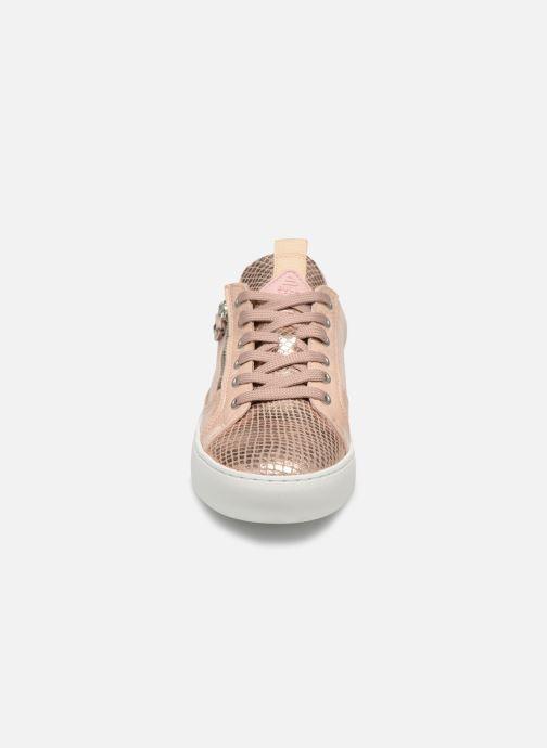 Sneaker Bullboxer 962063E5L rosa schuhe getragen