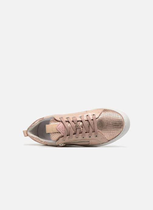 Sneaker Bullboxer 962063E5L rosa ansicht von links