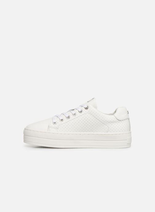 Sneaker Bullboxer 987000E5L weiß ansicht von vorne