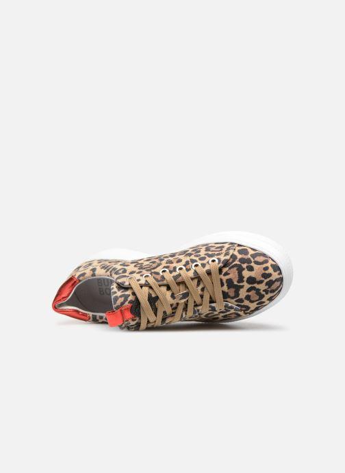 Sneaker Bullboxer 807006E5C braun ansicht von links