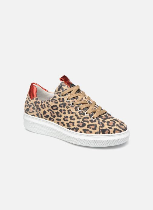 Sneakers Bullboxer 807006E5C Bruin detail