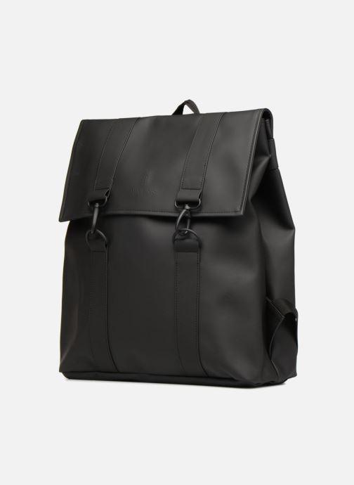 Rucksäcke Rains  Msn Bag schwarz schuhe getragen