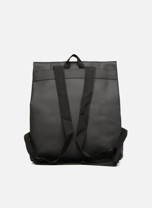 Mochilas Rains  Msn Bag Negro vista de frente