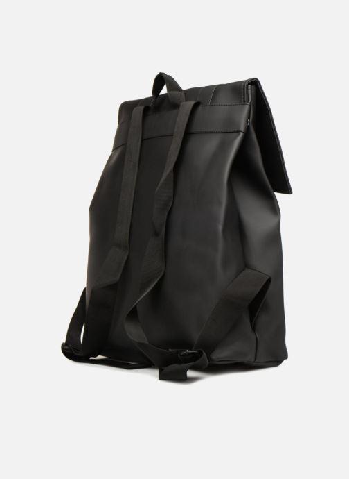 Rucksäcke Rains  Msn Bag schwarz ansicht von rechts