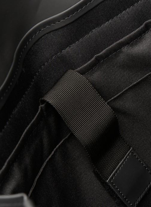 Rucksacks Rains  Msn Bag Black back view