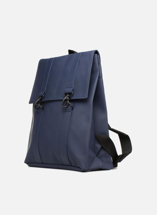 Sacs à dos Rains  Msn Bag Bleu vue portées chaussures