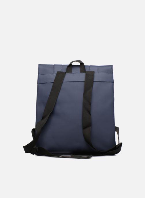 Mochilas Rains  Msn Bag Azul vista de frente