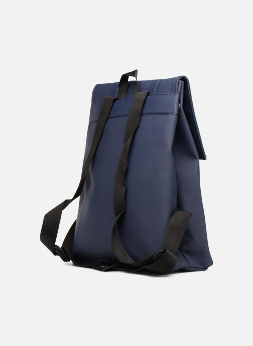 Mochilas Rains  Msn Bag Azul vista lateral derecha