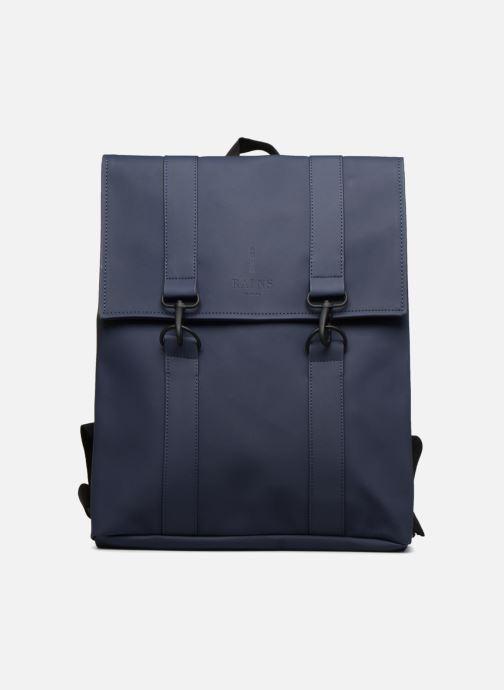 Ryggsäckar Rains  Msn Bag Blå detaljerad bild på paret