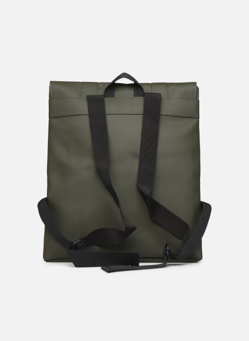 Rucksacks Rains  Msn Bag Green front view