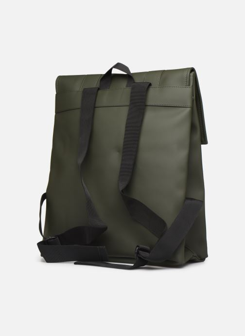 Rucksacks Rains  Msn Bag Green view from the right