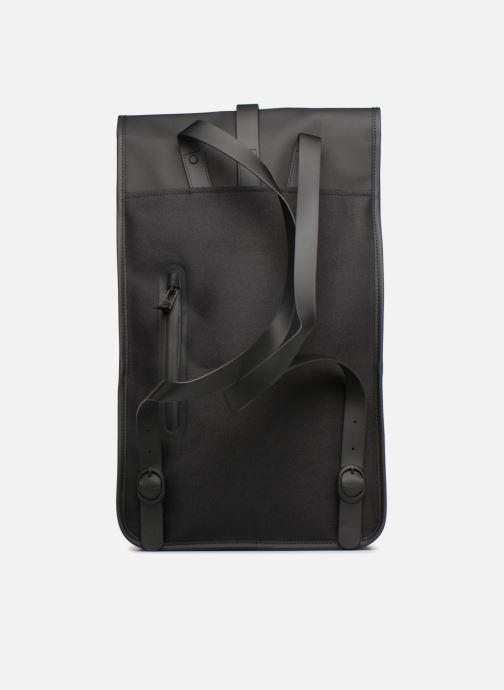 Rucksäcke Rains  Backpack schwarz ansicht von vorne