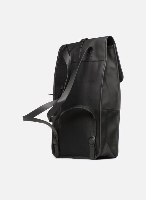 Rucksäcke Rains  Backpack schwarz ansicht von rechts