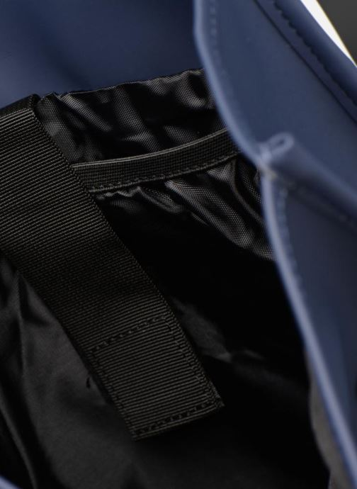 Mochilas Rains  Backpack Azul vistra trasera