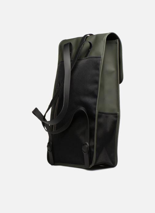 Rucksäcke Rains  Backpack grün ansicht von rechts
