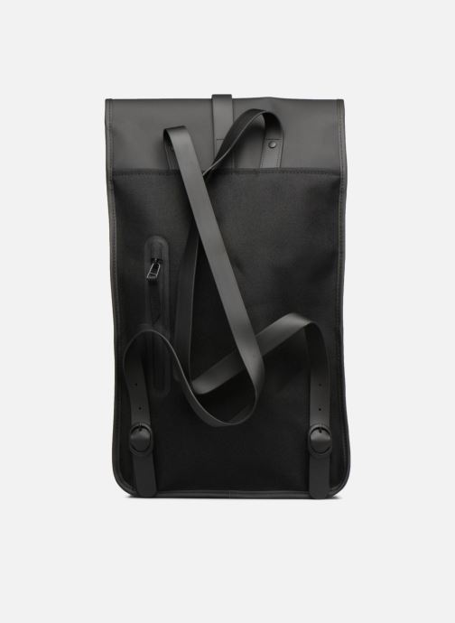Ryggsäckar Rains  Backpack Svart bild från framsidan