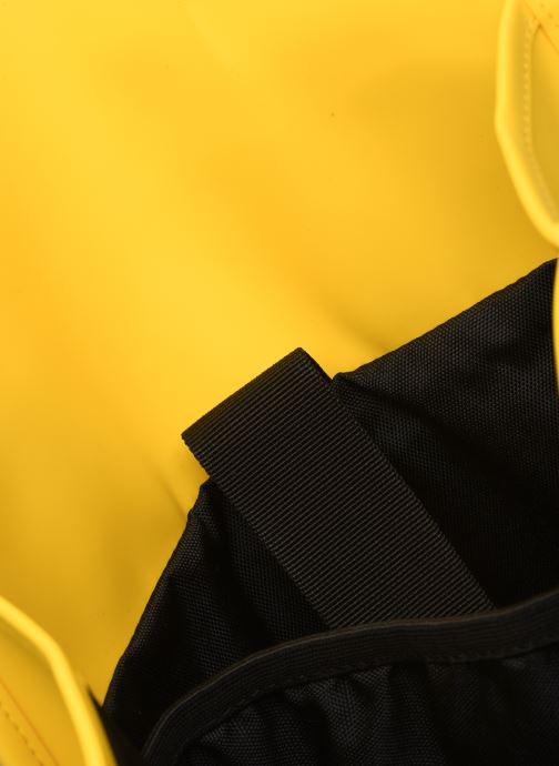 Rucksacks Rains  Backpack Yellow back view
