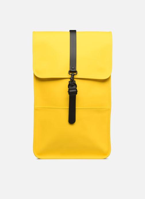 Rucksacks Rains  Backpack Yellow detailed view/ Pair view