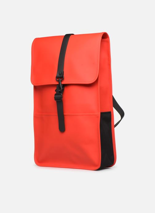 Rucksacks Rains  Backpack Red model view