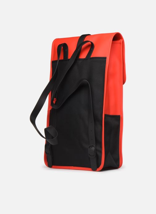 Rucksacks Rains  Backpack Red view from the right