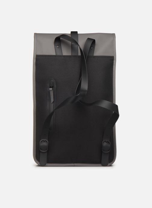 Rucksäcke Rains  Backpack grau ansicht von vorne