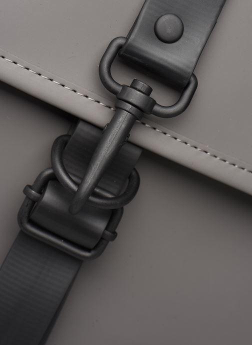 Rucksäcke Rains  Backpack grau ansicht von links