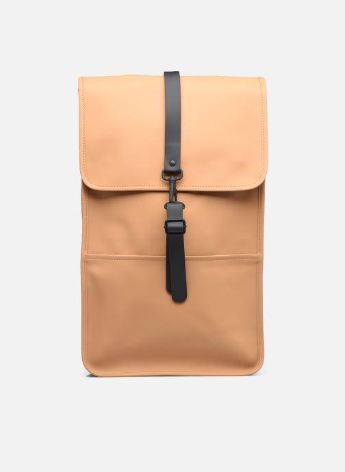 Mochilas Rains  Backpack Verde vista de detalle / par