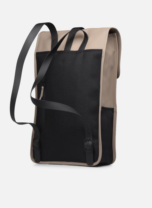 Rucksäcke Rains  Backpack beige ansicht von rechts
