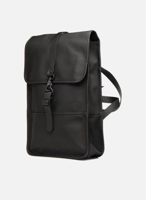 Zaini Rains  Backpack Mini Nero modello indossato