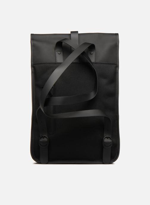 Rugzakken Rains  Backpack Mini Zwart voorkant