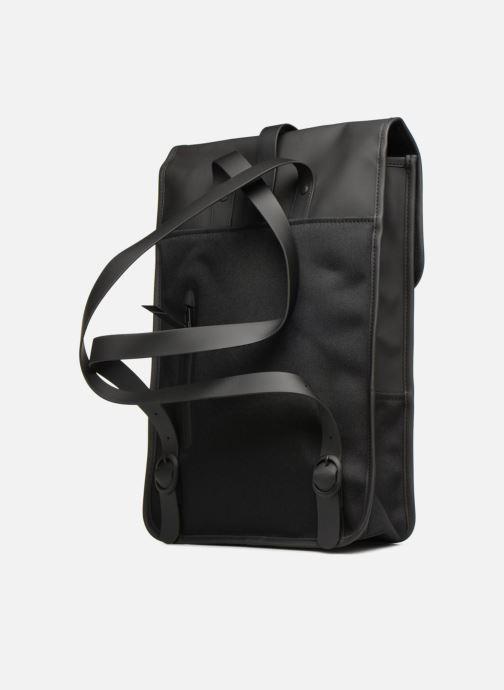 Rugzakken Rains  Backpack Mini Zwart rechts