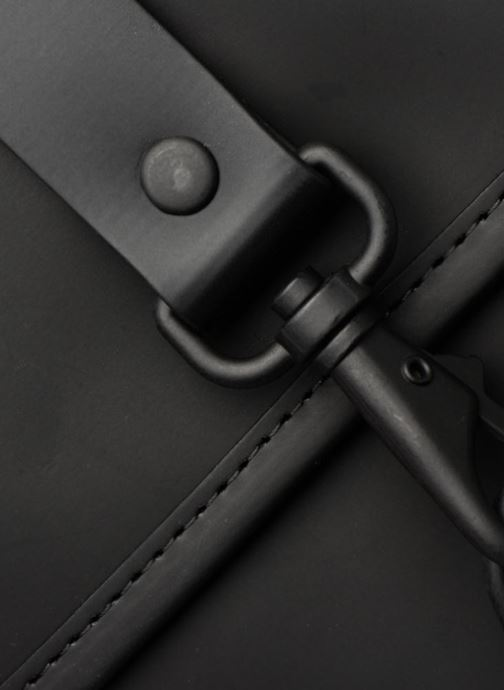 Mochilas Rains  Backpack Mini Negro vista lateral izquierda