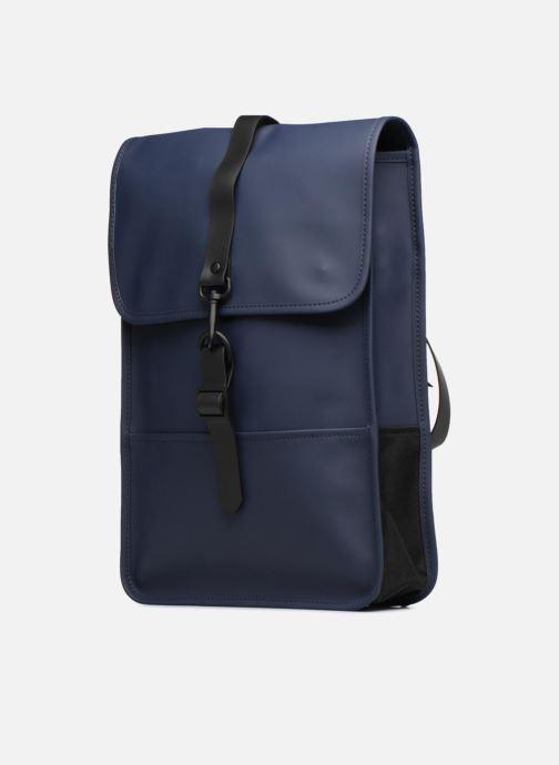 Rucksäcke Rains  Backpack Mini blau schuhe getragen