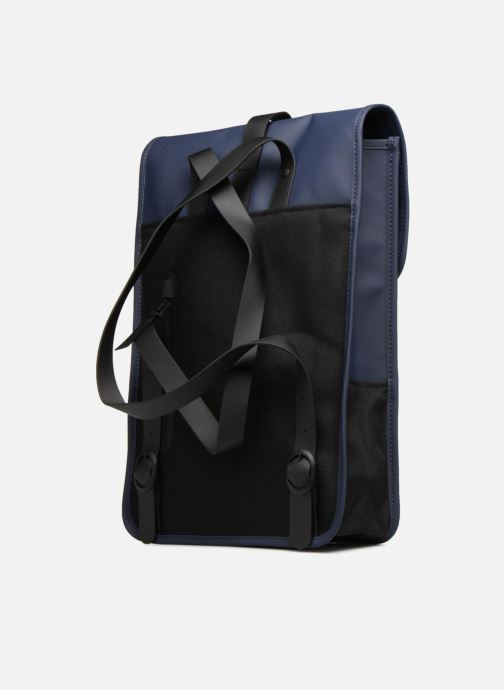 Mochilas Rains  Backpack Mini Azul vista lateral derecha