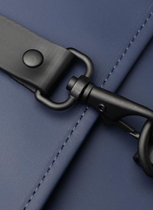 Rucksäcke Rains  Backpack Mini blau ansicht von links