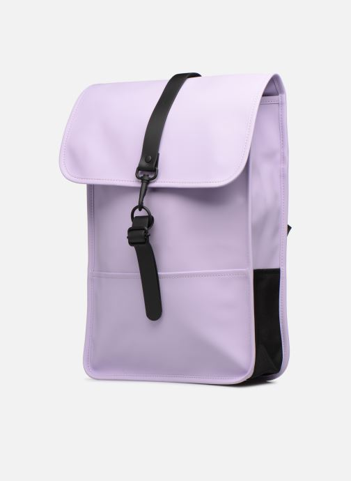 Rucksacks Rains  Backpack Mini Purple model view