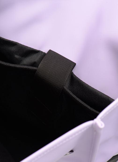 Rucksacks Rains  Backpack Mini Purple back view