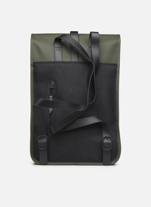 Rucksacks Rains  Backpack Mini Green front view