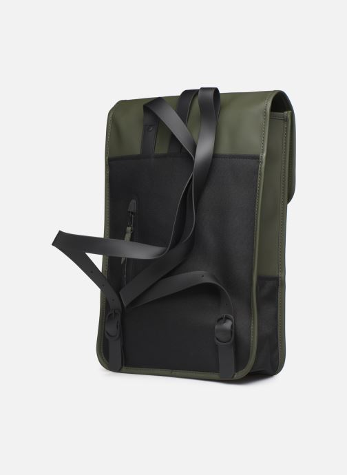 Rucksacks Rains  Backpack Mini Green view from the right