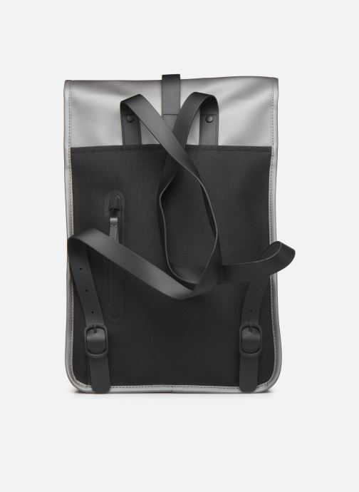 Mochilas Rains  Backpack Mini Gris vista de frente