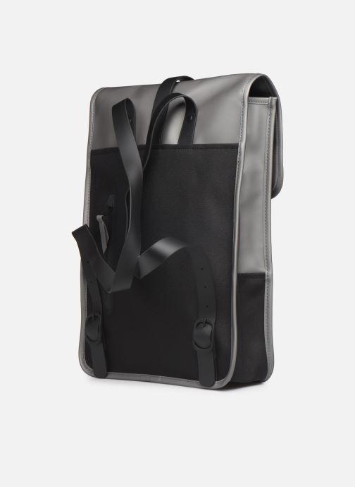 Mochilas Rains  Backpack Mini Gris vista lateral derecha