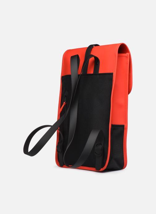 Mochilas Rains  Backpack Mini Rojo vista lateral derecha