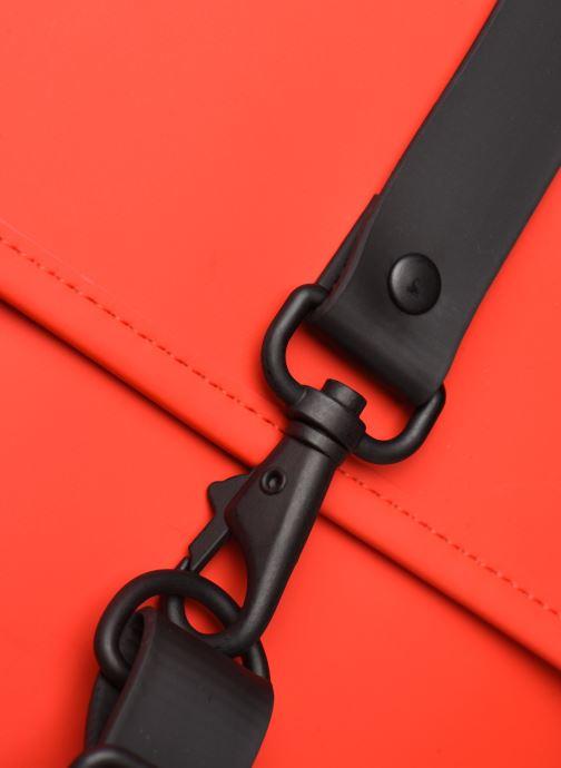 Mochilas Rains  Backpack Mini Rojo vista lateral izquierda