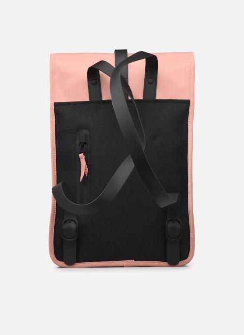Rucksäcke Rains  Backpack Mini rosa ansicht von vorne