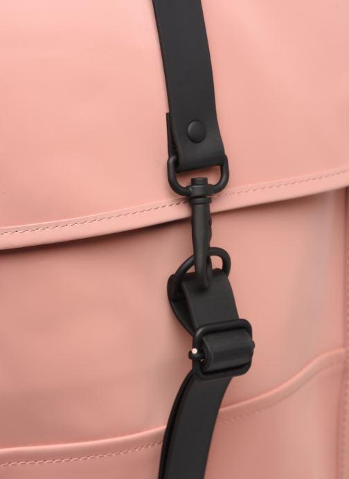 Rucksäcke Rains  Backpack Mini rosa ansicht von links