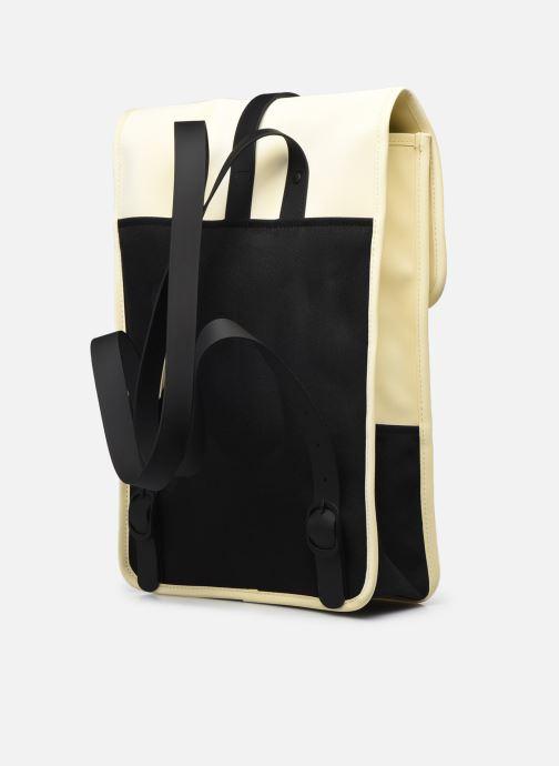 Rucksäcke Rains  Backpack Mini beige ansicht von rechts