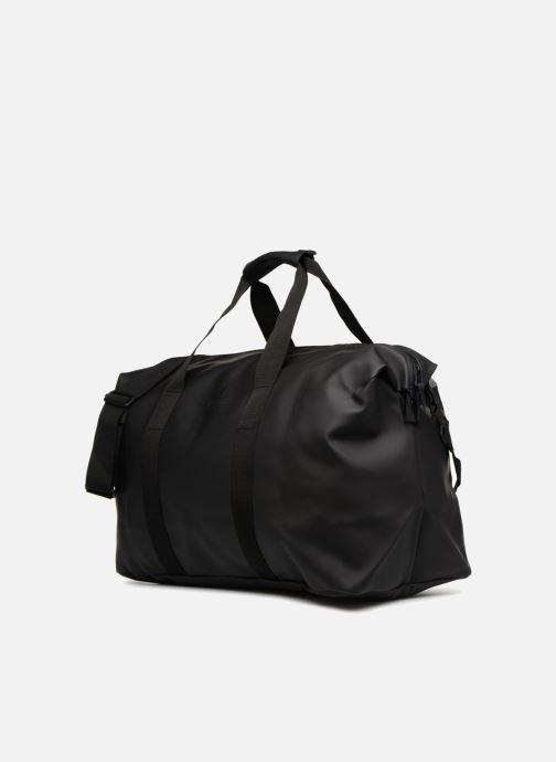 Bolsas de deporte Rains  Weekend Bag Negro vista del modelo